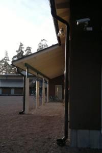 Bobäck skola, laajennus