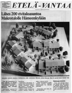 Hämeenkylä1983Etelä Vantaa
