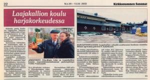 Laajakallion koulu 2003KS