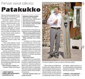 Patakukko2009Kuivike