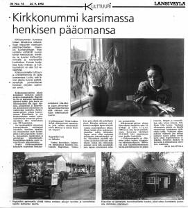 Piirroksia1992Länsiväylä