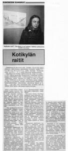kotikylän raitit1978KokemäenSanomat